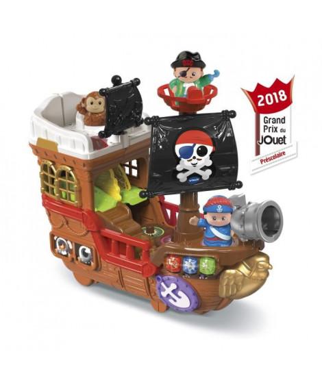 VTECH - TUT TUT Copains - Super Bateau Pirate 2 En 1 (+ Personnages)