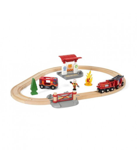 BRIO World  - 33815 - Circuit Action Pompier