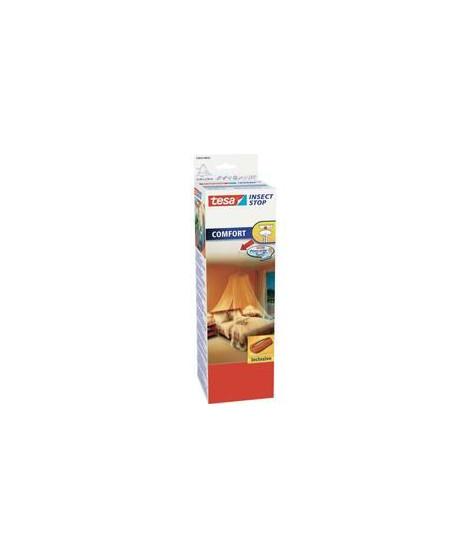 TESA Moustiquaire voile pour lits 2 personnes - 12,5 m x 2,5 m - Blanc