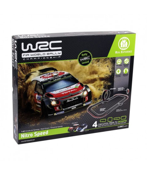 WRC Set 1/43 Nitro Speed - 5 m