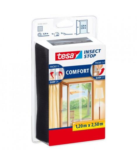 TESA Moustiquaire Comfort pour portes 2 x 0,65 x 2,5 m - Blanc