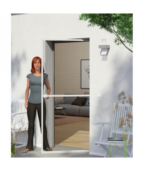 WINDHAGER Moustiquaire porte battante - L 100 x H 210 cm - Blanc