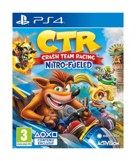 Crash Team Racing Nitro Fueled Jeu PS4