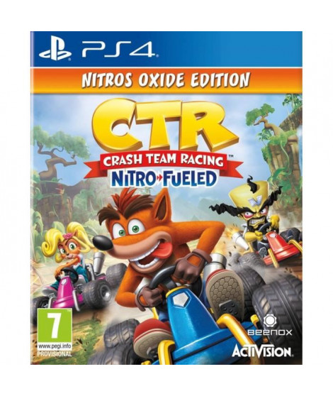 Crash Team Racing Nitro Fueled - Édition Nitros Oxide Jeu PS4