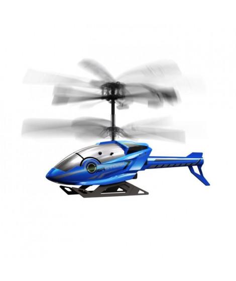 SILVERLIT - Hélicoptere Télécommandé Infrarouge Bleu  Air Stork