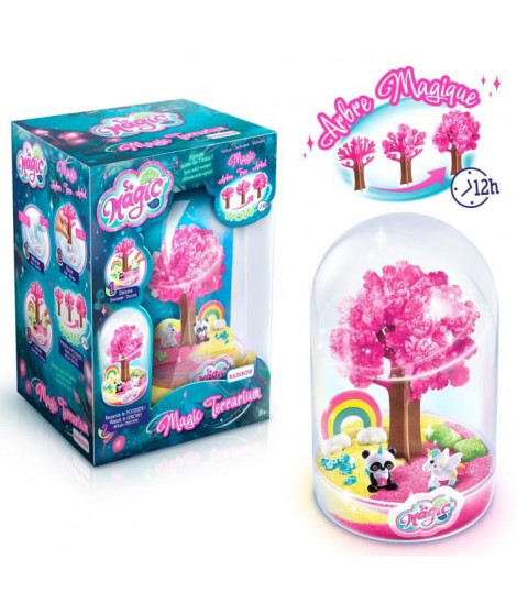 CANAL TOYS - SO MAGIC DIY - Large Terrarium Kit - RAINBOW - Fabrique ton propre Glitterarium !
