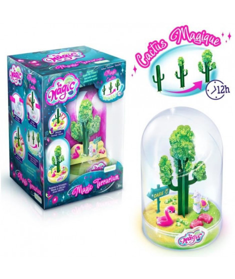 CANAL TOYS - SO MAGIC DIY - Large Terrarium Kit - DESERT - Fabrique ton propre Glitterarium !