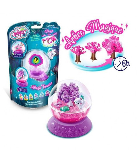 CANAL TOYS - SO MAGIC DIY - Mini Terrarium Kit - Cosmic - Fabrique ton propre Glitterarium ! MSG 017