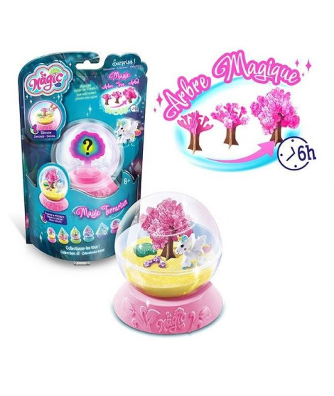 CANAL TOYS - SO MAGIC DIY - Mini Terrarium Kit - Rainbow - Fabrique ton propre Glitterarium ! MSG 018