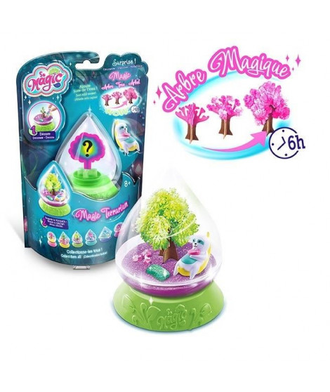 CANAL TOYS - SO MAGIC DIY - Mini Terrarium Kit - Forest - Fabrique ton propre Glitterarium ! MSG 021