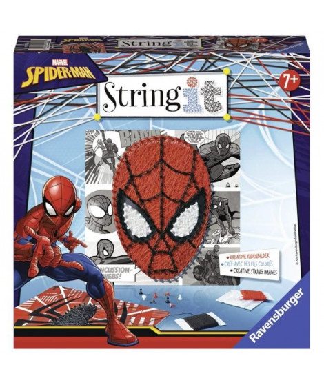 STRING IT midi licence Spiderman Suivez La tendance du String Art ! Ravensburger