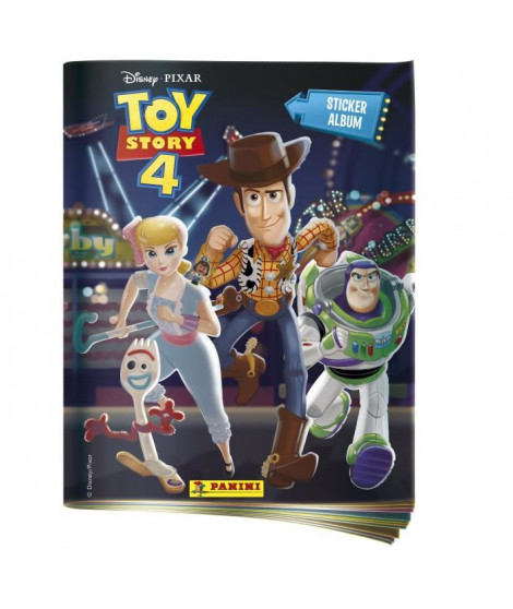 TOY STORY 4 Album + porte cartes