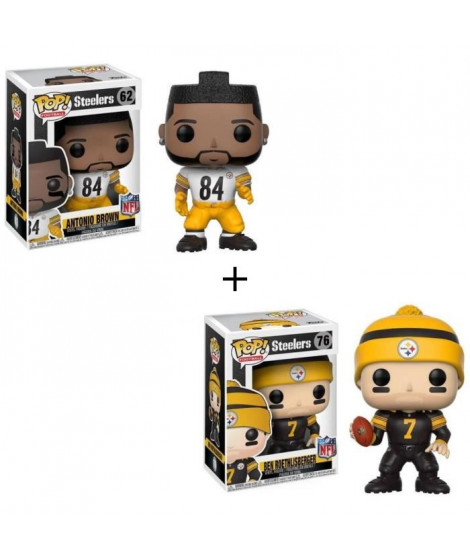 Pack de 2 Pop! NFL : Steelers