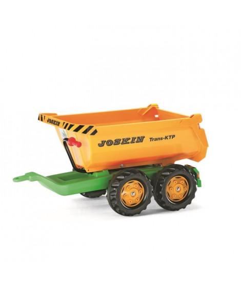ROLLY TOYS Rolly Halfpipe Joskin Remorque pour Tracteur a Pédale Enfant