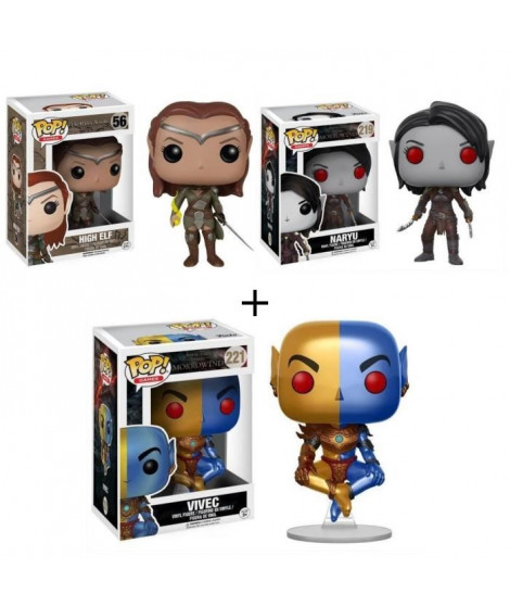 Pack de 3 Pop! The Elder Scrolls