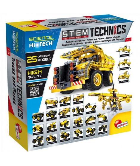 LISCIANI GIOCHI Jeux de construction Stem Technics - Avion et camion