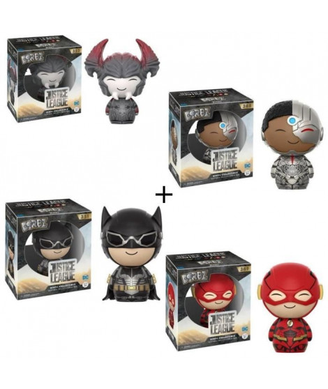 Pack de 4 Figurines Dorbz
