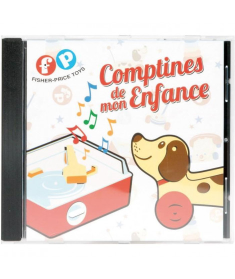 FISHER PRICE- CD de comptines