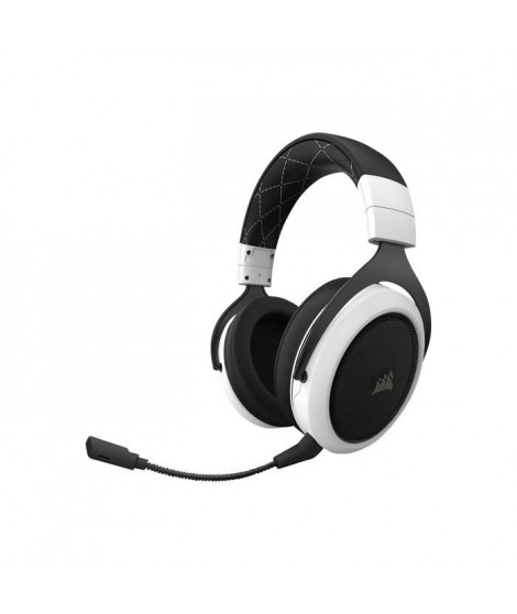 CORSAIR Casque GAMER HS70 WIRELESS - Blanc (CA-9011177-EU)