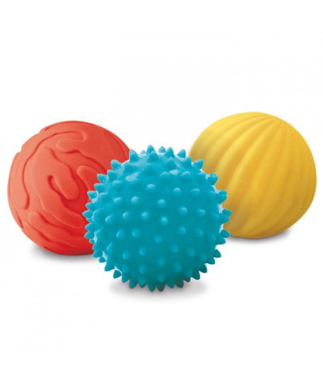 LUDI 3 Balles Sensorielles