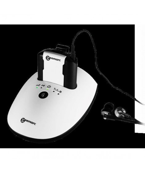 Casque TV GEEMARC CL7350 OptiClip - Avec entrée optique - Jusqu'a 120dB