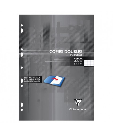 Copies doubles blanches perforees 210X297 200 page