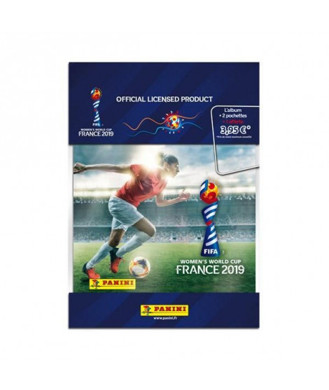 FIFA WOMEN'S WORLD CUP 2019 Album + 1 pochette + 2 gratuites
