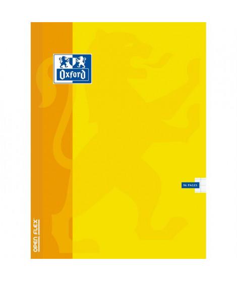 OXFORD   Cahier Openflex agrafé - 24 x 32 cm - 96 pages - Seyes