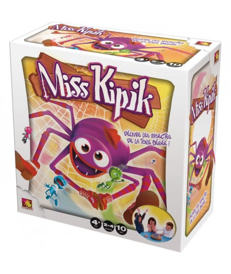ASMODEE - Miss Kipik - Jeu de société