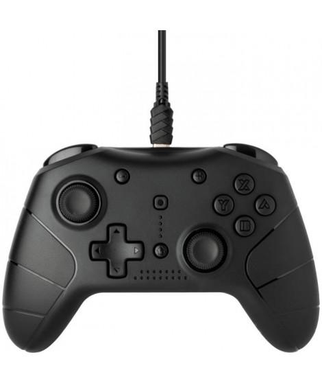 Manette filaire Under Control Noire V2 pour Switch