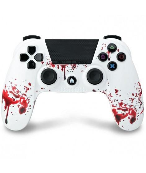 Manette Bluetooth Zombie Under Control avec Prise Casque pour PS4