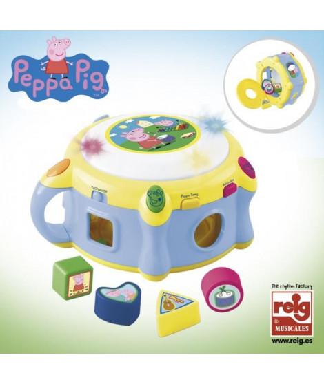 PEPPA PIG Tambour Electronique avec Formes