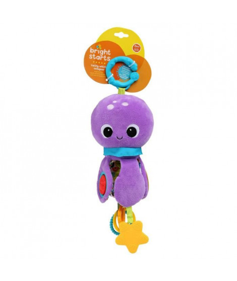BRIGHT STARTS Poulpi la peluche Twirly Whirly Octopus