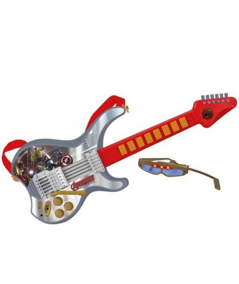 AVENGERS Guitare électronique - 8 rythmes - 8 instruments - A piles