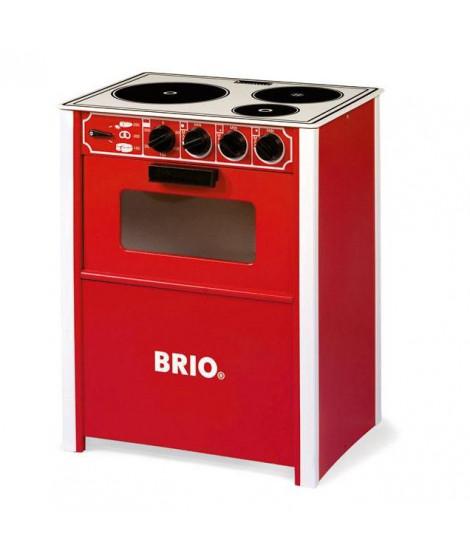 BRIO - 31355 - Cuisiniere Rouge - Jouet en bois