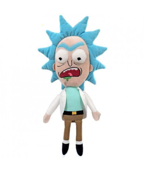 Figurine Funko Galactic Plushies : Rick & Morty : Worried Rick (Exc)