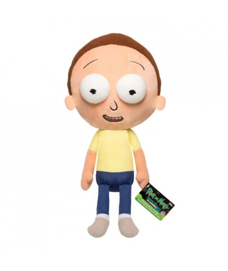 Figurine Funko Galactic Plushies : Rick & Morty : Morty (Exc)