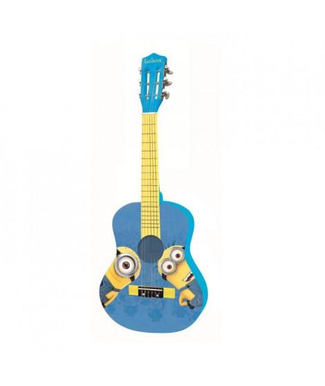 LEXIBOOK - LES MINIONS - Guitare Acoustique Enfant - Hauteur 78 cm