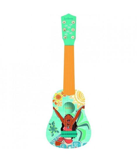 LEXIBOOK - VAIANA - Guitare Acoustique Enfant - Hauteur 53 cm
