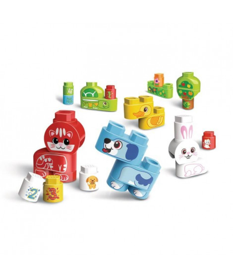 VTECH - Bla Bla Blocks - Mes animaux domestiques (sans electronique)
