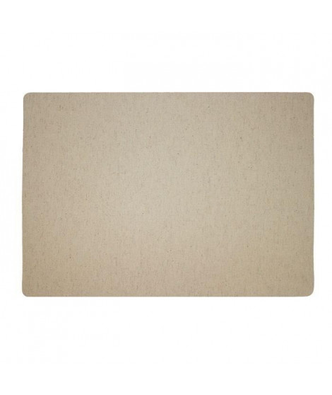 Lot de 4 Sets de table textile - 43x30 cm - Camel