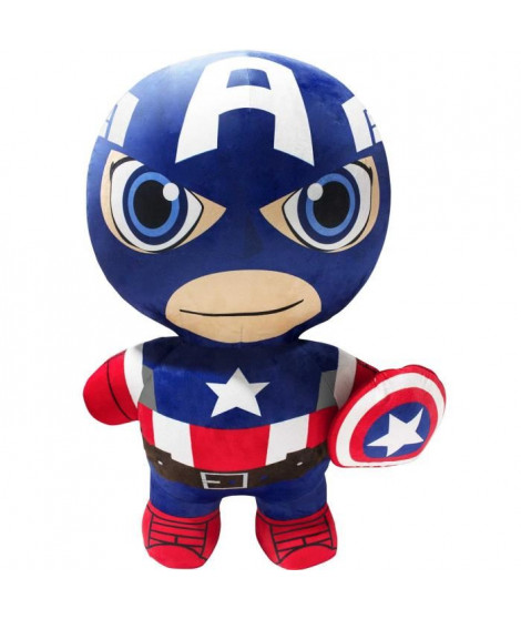 INFLATE-A-HERoeS Peluche gonflable Classic Captain America 75cm - Ultra résistante