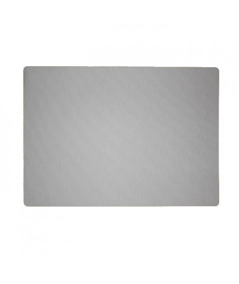 Lot de 4 Sets de table textile - 43x30 cm - Gris
