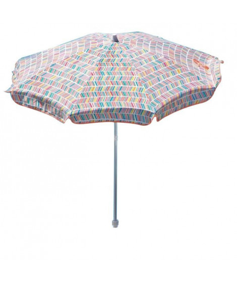EZPELETA Parasol inclinable Bora - Ø 180 cm - Multicolore Socle non inclus