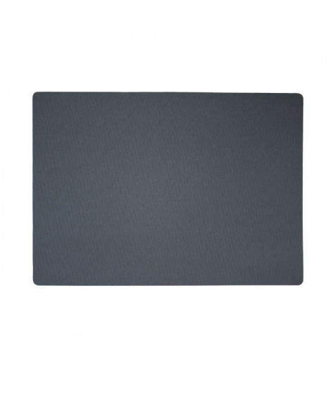 Lot de 4 Sets de table textile - 43x30 cm - Anthracite