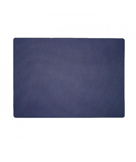 Lot de 4 Sets de table textile - 43x30 cm - Marine