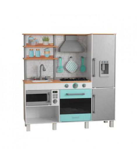 KIDKRAFT - Cuisine enfant en bois Gourmet Chef avec EZ Kraft Assembly?