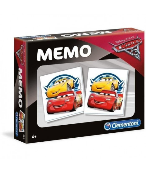CLEMENTONI Super Mémo - Cars 3 - Jeu de mémorisation