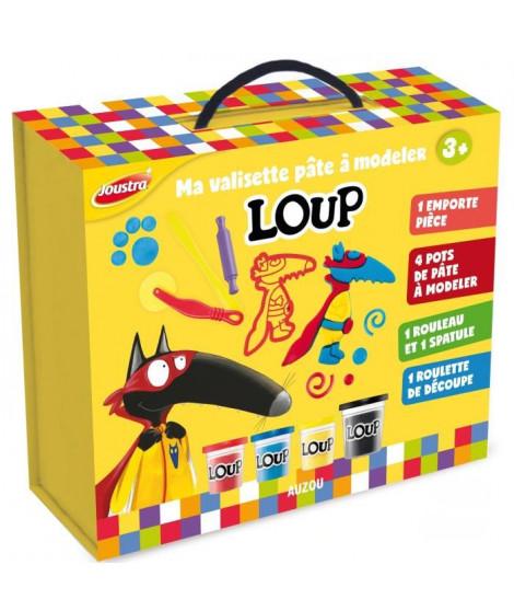 JOUSTRA - Loup Coffret Multiactivités - Crée ton personnage Loup en pâte a modeler !