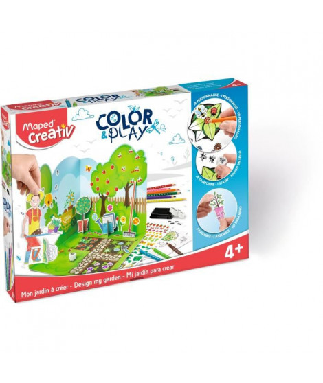 MAPED CREATIV - Color&Play - Mon Jardin a Créer